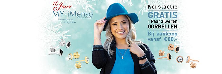 MY iMenso kerstactie 2019 - gratis oorknopjes