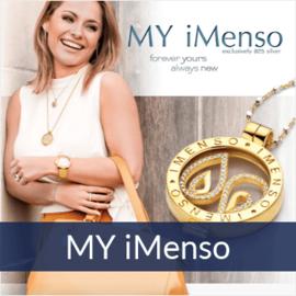 MY iMenso - het muntcollier in zilver