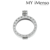MY iMenso medaillon achterkant