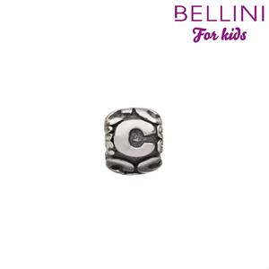 Bellini 560.C - zilveren bedel letter C