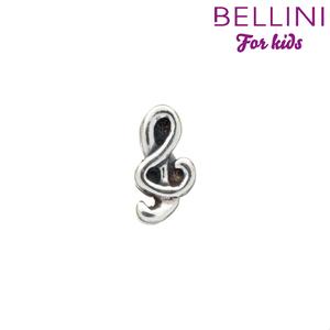 Bellini 562.042 - Zilveren Bellini bedel muzieksleutel