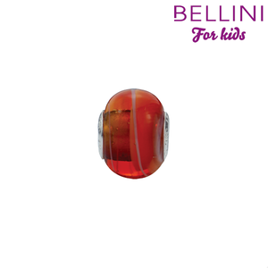 Bellini 561.501 - glasbedel rood/wit