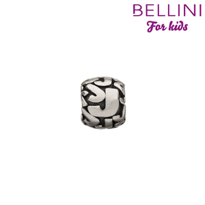 Bellini 560.J - zilveren bedel letter J
