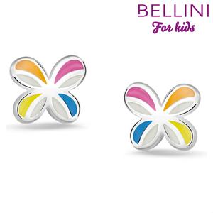 Bellini 575.022 - zilveren kinder oorbellen vlinder