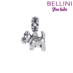 Bellini 568.014 -Zilveren Bellini bedel hangend hondje