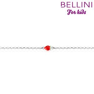 Bellini 573.010 - Zilveren Bellini armband met aardbei
