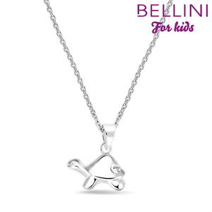 Bellini 574.018 - zilveren kinder collier met hanger